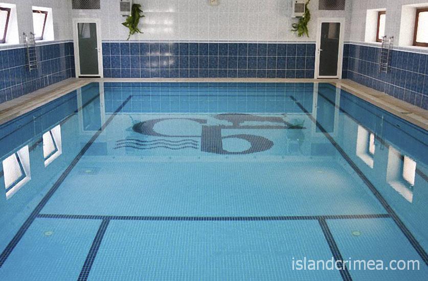 """Санаторий """"Белоруссия"""", крытый бассейн в корпусе 2"""