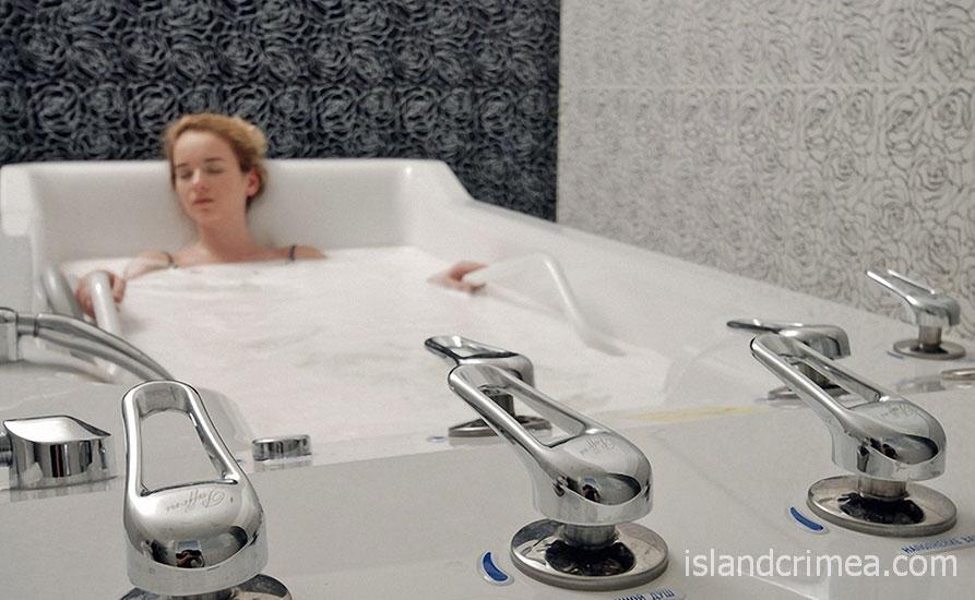 "Санаторий ""Черноморец"", лечебные ванны"