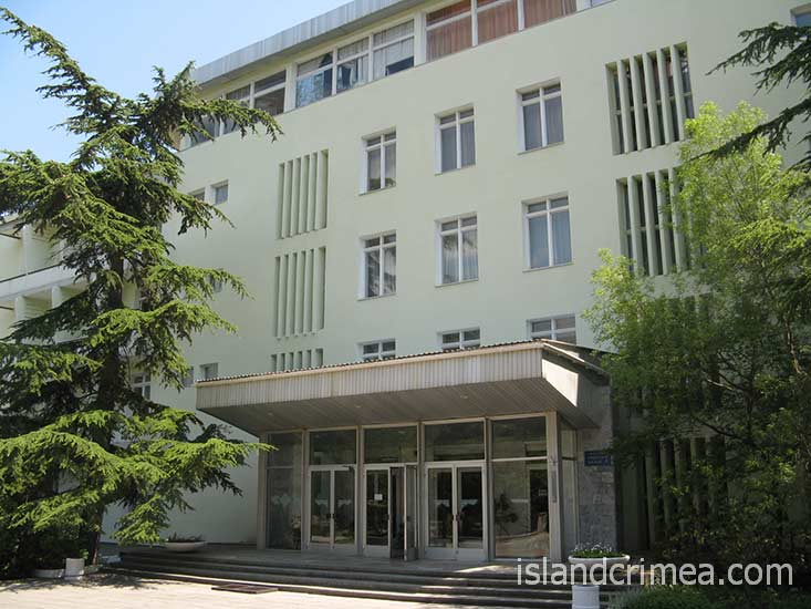 """Санаторий """"Черноморье"""", корпус 1"""