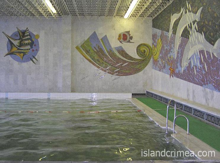 "Санаторий ""Днепр"", крытый бассейн"