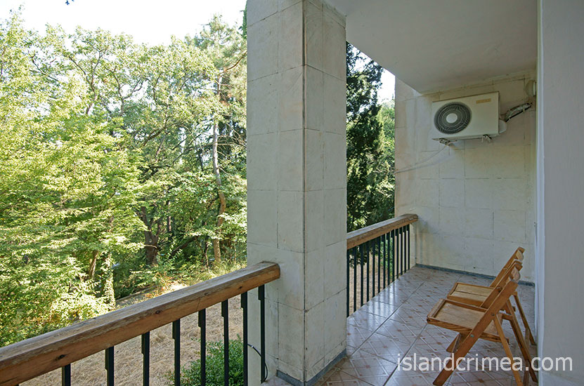 "Санаторий ""Горный"", корпус 2, балкон."