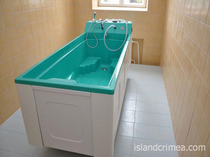 """Санаторий """"Горный"""", лечебная ванна."""