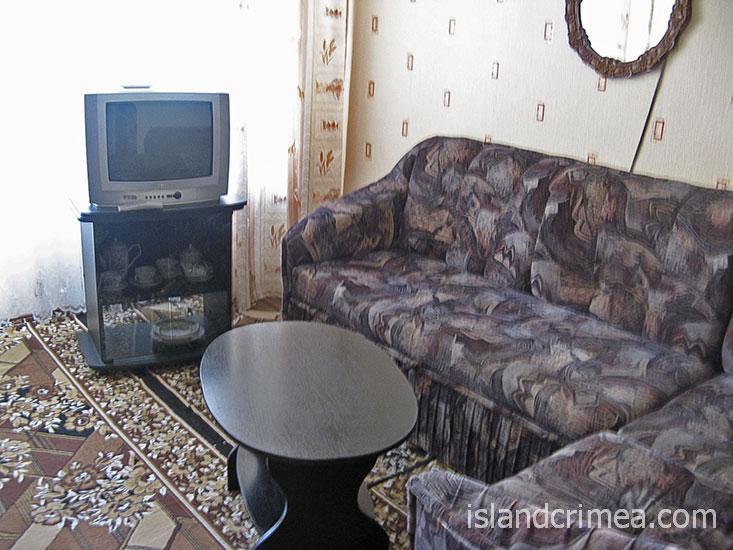 """Санаторий """"Киев"""", 2-комн. 2-местн. полулюкс, гостиная."""