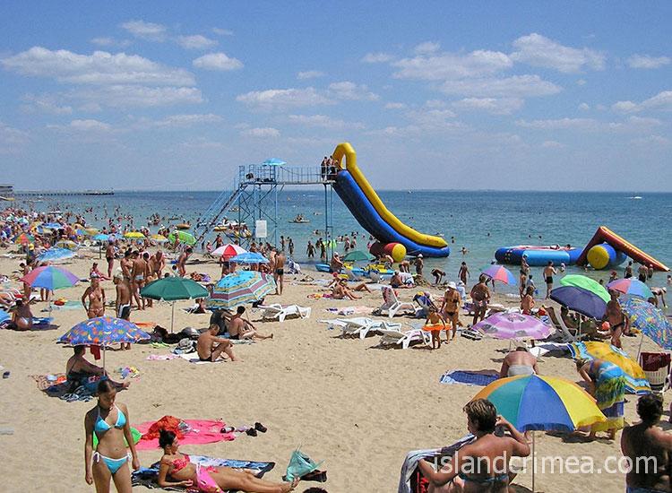 "Санаторий ""Победа"", пляж"