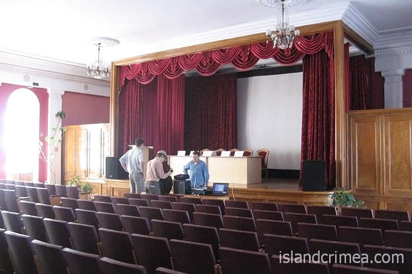 """Киноконцертный зал санатория """"Родина"""""""