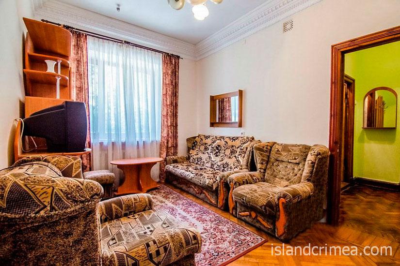 """Санаторий """"Родина"""", 2-комнатный стандарт север, гостиная, корпус 1"""