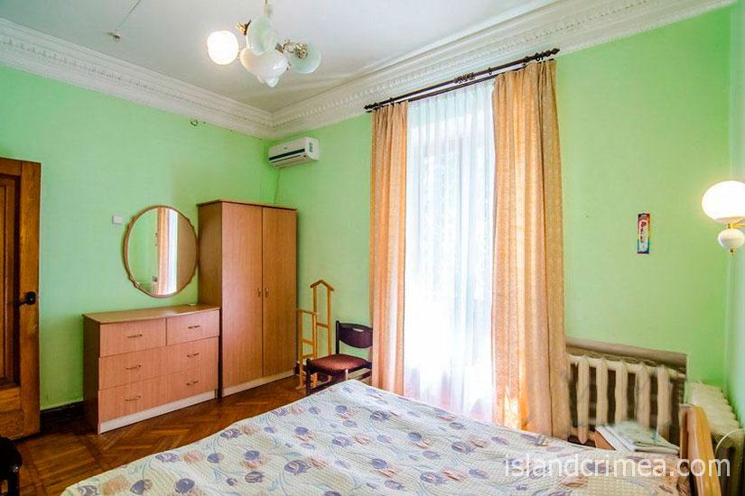 """Санаторий """"Родина"""", 2-комнатный стандарт север, спальня, корпус 1"""