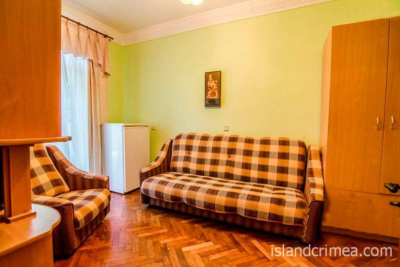 """Санаторий """"Родина"""", 2-комнатный стандарт, гостиная, корпус 2"""