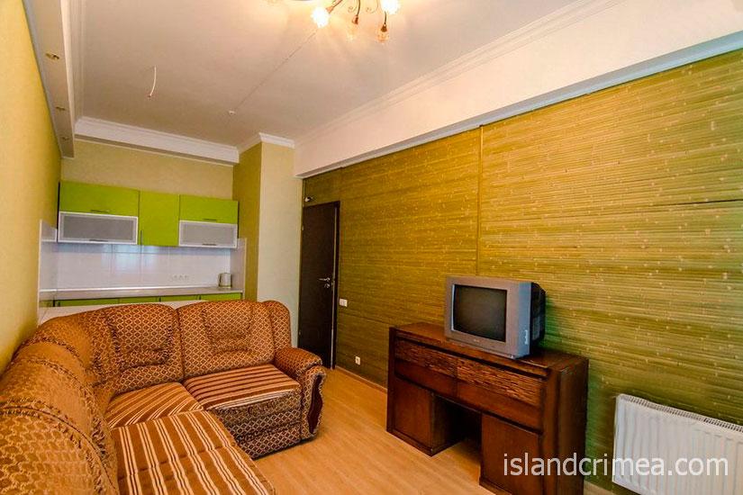 """Санаторий """"Родина"""", люкс 2 этаж, гостиная, корпус 4"""