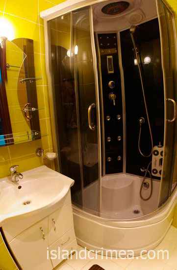 "Санаторий ""Родина"", люкс 4 этаж, ванная комната, корпус 4"