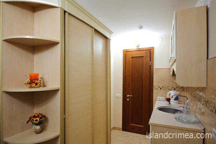 """Санаторий """"Сакрополь"""", люкс, мини-кухня"""