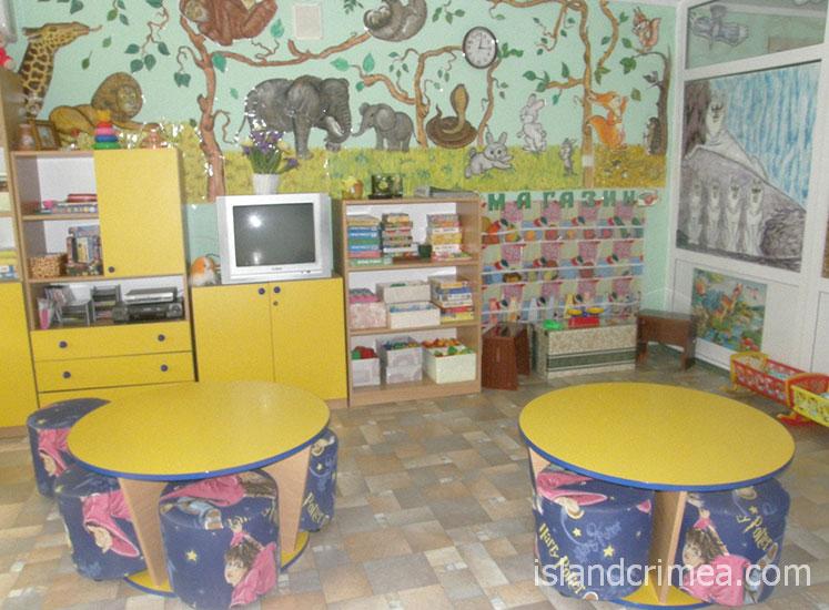 """Санаторий """"Северное сияние"""", детская комната"""