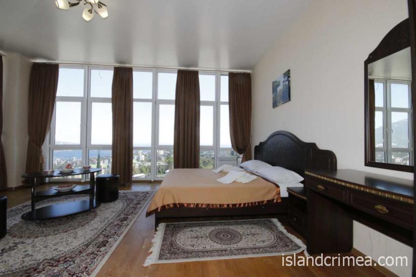 """Санаторий """"Узбекистан"""", 1-комнатный 2-местный люкс, вид на море, корпус 7"""