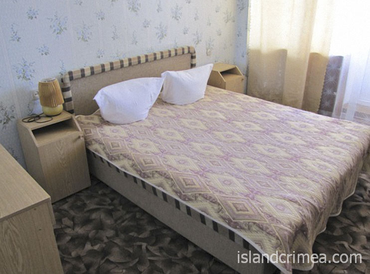"Санаторий ""Восход"", корпус 4, 2-м номер стандарт ПК, спальня."