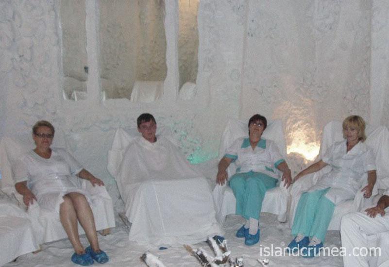 """Санаторно-оздоровительный центр """"Маяк"""", соляная комната"""