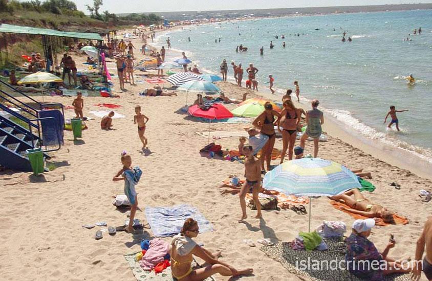 """Пансионат """"Солнечная долина"""", пляж"""