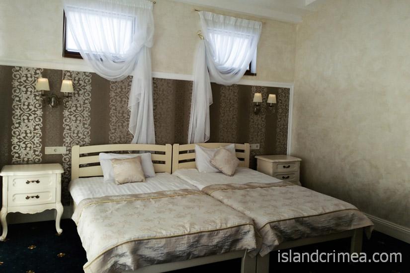 """Санаторий """"Сосновая роща"""", suite 3 SV, спальня"""