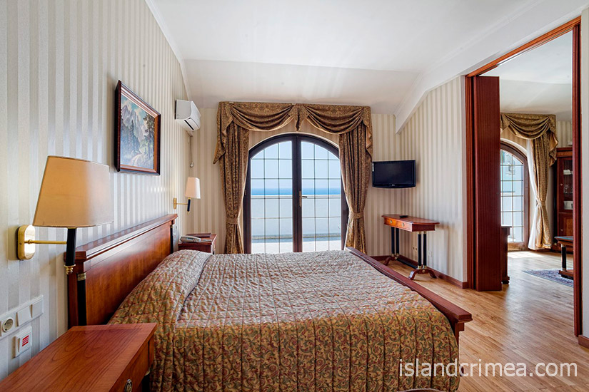 """Санаторий """"Сосновая роща"""", apartments 2, спальня"""