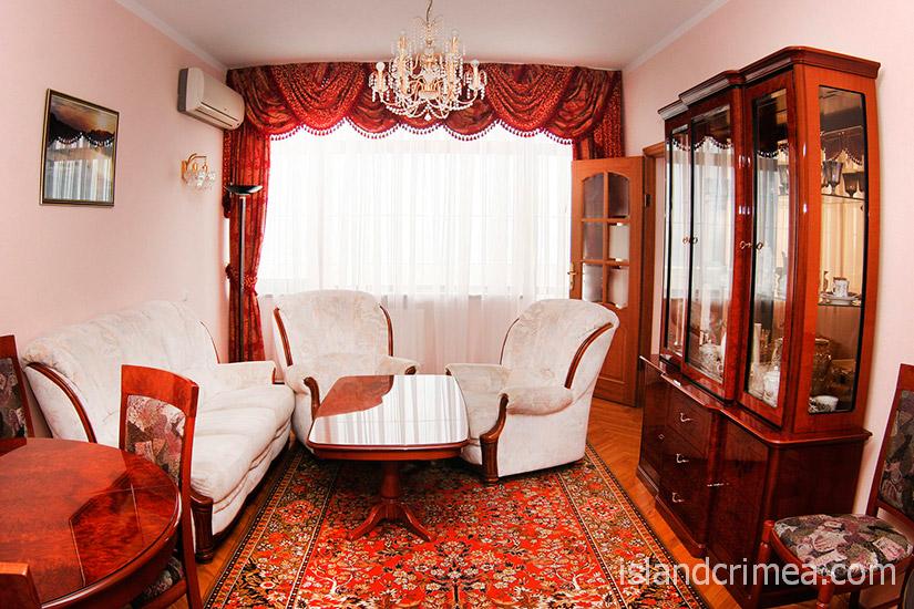 """Санаторий """"Сосновая роща"""", suite 2, гостиная"""