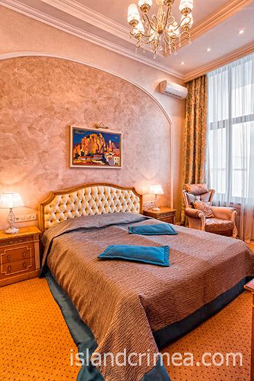"""Санаторий """"Сосновая роща"""", suite 2 new, вариант 2, спальня"""