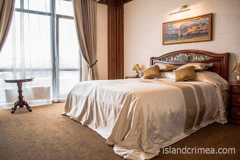"""Санаторий """"Сосновая роща"""", suite 3 new, спальня"""
