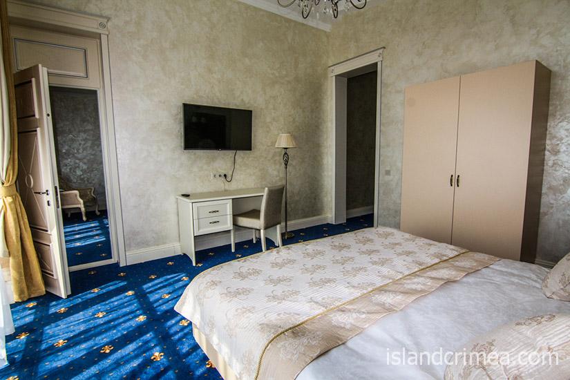 """Санаторий """"Сосновая роща"""", suite 2 SV, спальня"""
