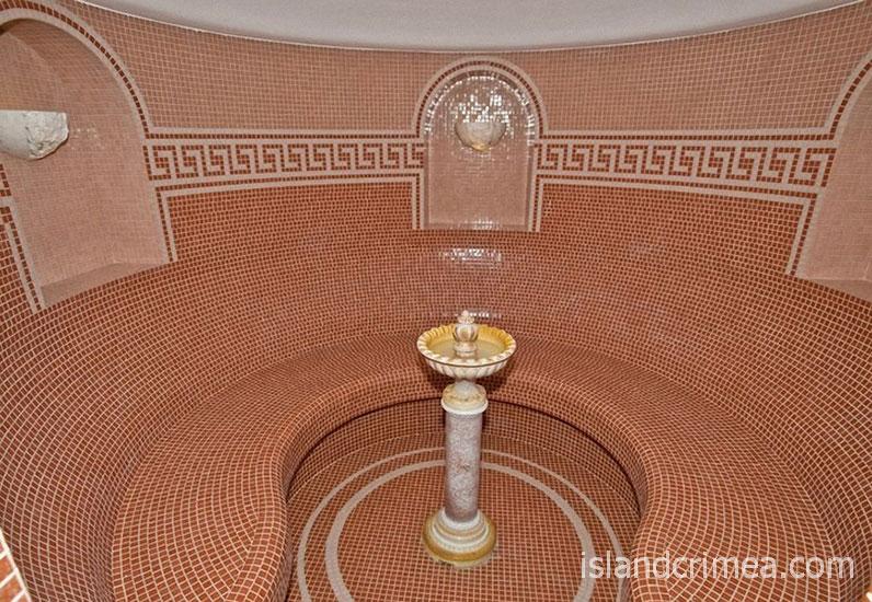 """SPA-отель """"Ливадийский"""", баня Хаммам."""