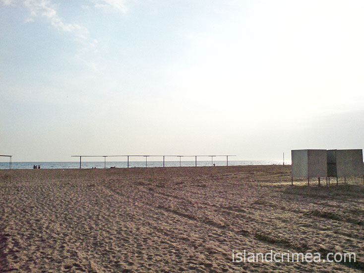 "Пляж пансионата ""Танжер"""