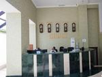 ТЭС-Отель, ресепшн