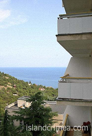 """ТОК """"Новый Свет"""", вид с балкона"""