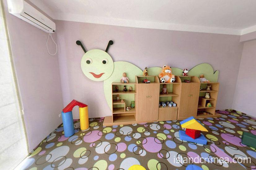 """Пансионат """"Творческая волна"""", детская комната"""