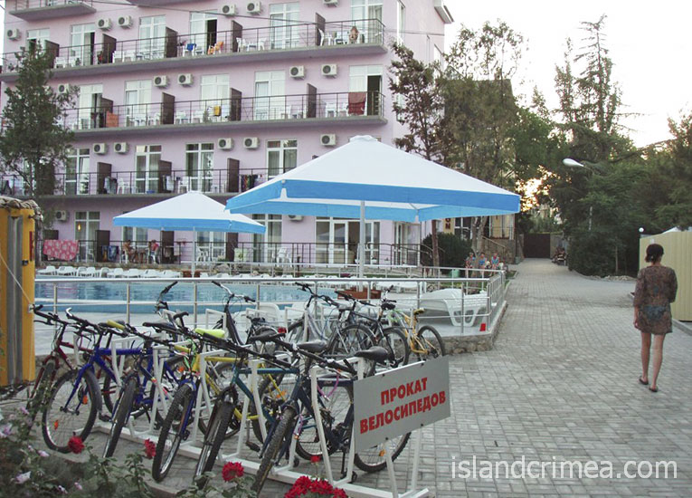 "Пансионат ""Творческая волна"", прокат велосипедов"