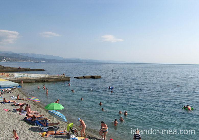 """Вилла """"Аннигора"""", пляж."""
