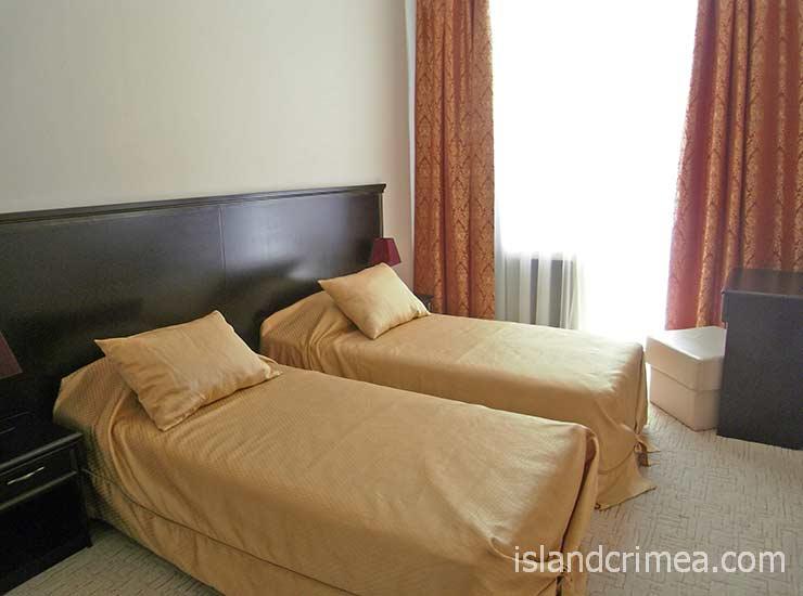 """Вилла """"Голубой залив"""", Apartament, раздельные кровати"""