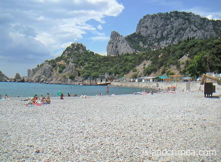 Пляж посёлка Симеиз