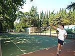 Теннисный корт ММЦ Юность.