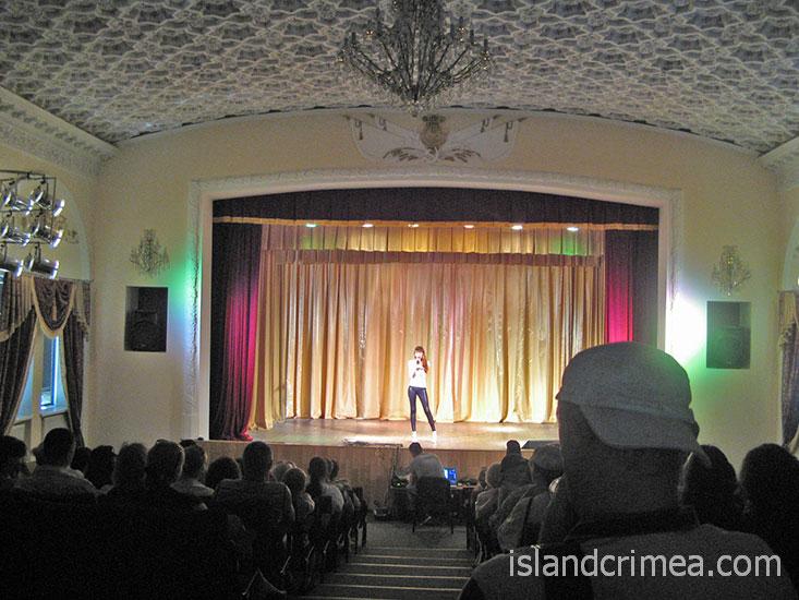 """Киноконцертный зал санатория """"Golden""""."""